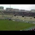 Cori allo stadio Jacovone, tra curva nord e tribuna