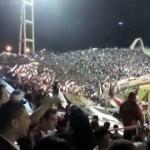 Coro tifosi del River Plate, contro il Boca 19-1-2013