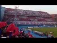 Lijepa naša domovino, inno Croazia vs Serbia Marzo 2013
