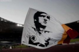 Agostino-Di-Bartolomei bandiera ultras