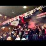 Coro ultras gradinata nord Genoa sei tutta la mia vita
