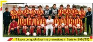 lecce promozione 1985