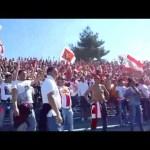 Ultras curva nord Barletta in coro il 45 giri Gente di mare