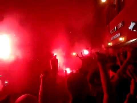 Gli ultras della Roma festeggiano gli 86 anni, 22 Luglio 2013