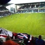 Musica e calcio con i tifosi dei Rangers ed i Black Eyed Peas