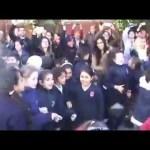 Brasil decime que se siente, coro da stadio dei bambini a scuola