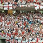 tifo inglese mondiali 2014