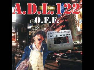 ADL 122 off skinhead ultras