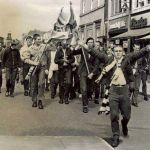 Bolton Wanderers: skinheads in corteo