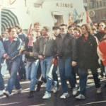 Genoa: skinheads in corteo