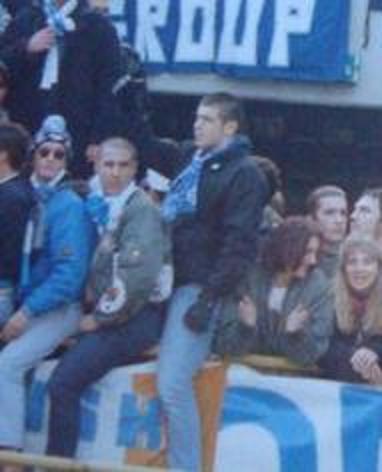 SPAL: skinheads ferraresi in Curva Ovest early 90s