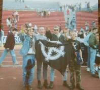 Inter: Skins con saluto romano e celtica Udinese vs Inter 1989/90