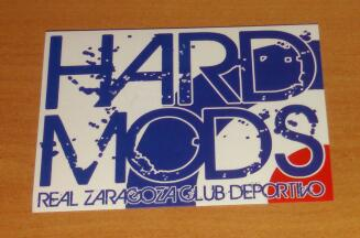 Real Saragozza (Zaragoza): adesivo Hard Mods