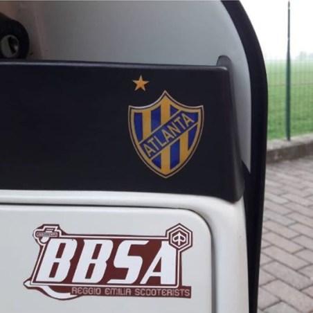 Club Atlético Atlanta: adesivo su Vespa