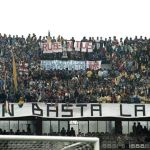 Hellas Verona: striscione firmato Rude Boys