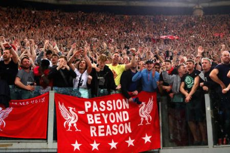 coro tifosi liverpool