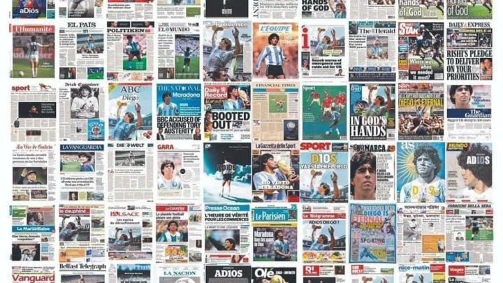 Omaggio a Diego Armando Maradona: la pared del D10S