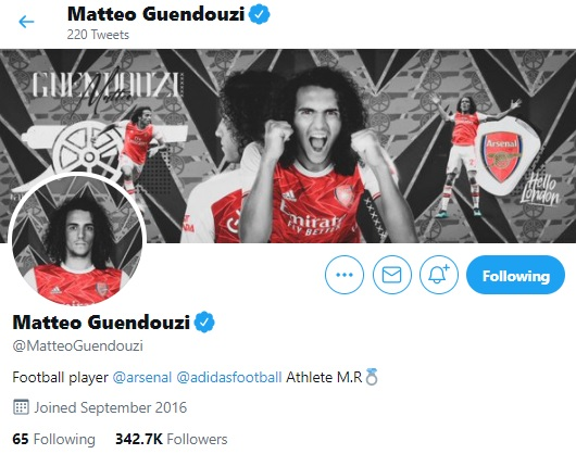 Proof that Matteo Guendouzi is coming back to Arsenal