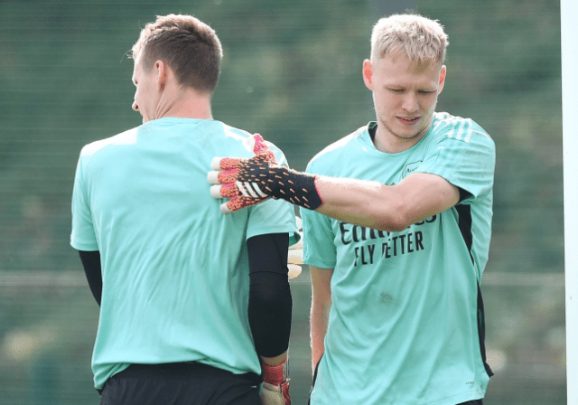 Arsenal manager, Mikel Arteta responds to reports. Bernd Leno reacted angrily to being dropped from the starting lineup