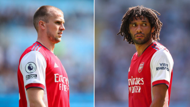 Arsenal provides an update on Rob Holding and Mohamed Elneny before of their match against Burnley