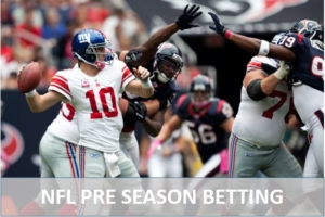 How to bet on NFL Pre Season