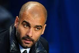 Bayern coach Pep Guardiola