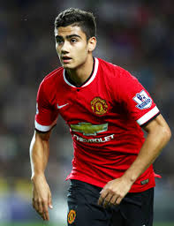 Andreas Pereira of Manchester United wants a threesome