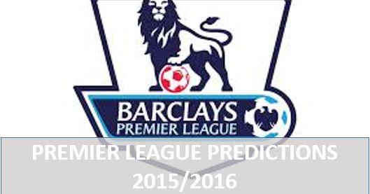 20 Premier League Season 2015/2016 Predictions