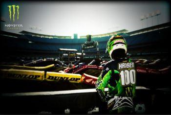 Walk the track Monster Energy Motocross