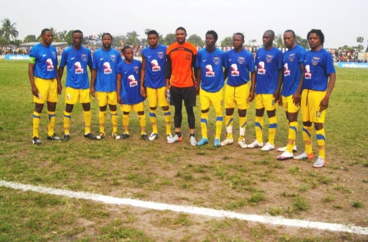 Defending Linafoot Champions - FC Saint Eloi Lupopo