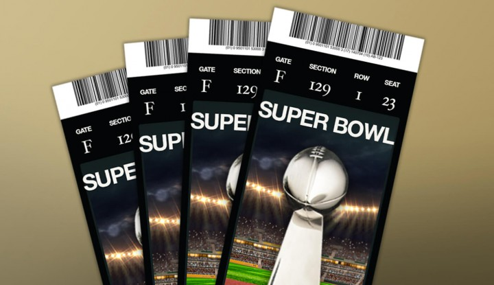 Tickets of Last year's Superbowl (Pic Cou: superbowlcommericals2016.org)
