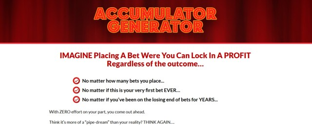 Accumulator Generator Football Betting Systems That Work