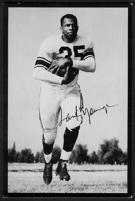 Tank Younger  1955 Rams Team Issue 37  Vintage Football