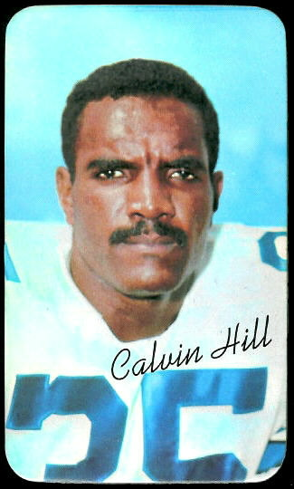 Calvin Hill  1970 Topps Super 28  Vintage Football Card