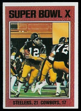 Super Bowl X 1976 Topps 333 Vintage Football Card Gallery