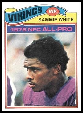 Sammy White Rookie Card 1977 Topps 340 Vintage