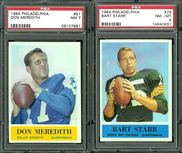 "The Two Star Quarterbacks:  ""Dandy"" Don Meredith and Bart Starr"