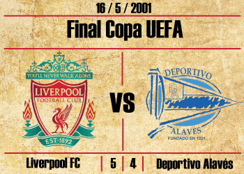 liverpool alaves final copa de la uefa europa league 2001