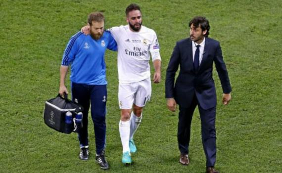 Carvajal is out for the season