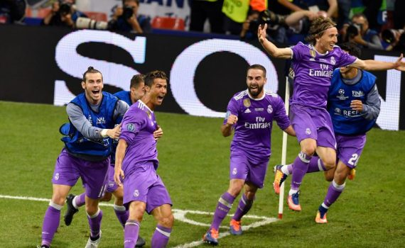 Cristiano Ronaldo and Real Madrid in Champions League final