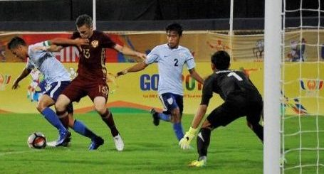BRICS Cup: Russia beat India 1-0