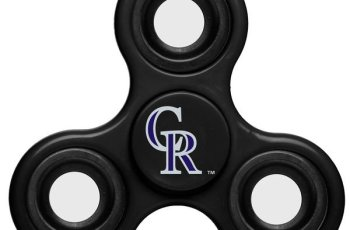 mlb fidget spinners, colorado rockies fidget spinners