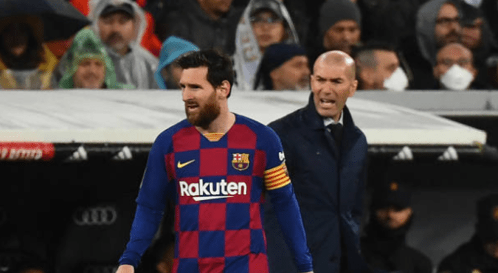 Photo of Zidane desires Messi to remain at Barcelona