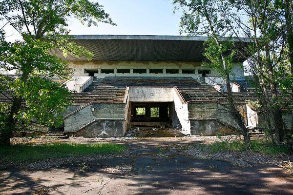 Pripyat Stadium 01 Tsjernobyl Pripyat RIP