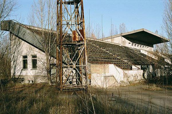 Pripyat Stadium 04 Tsjernobyl Pripyat RIP