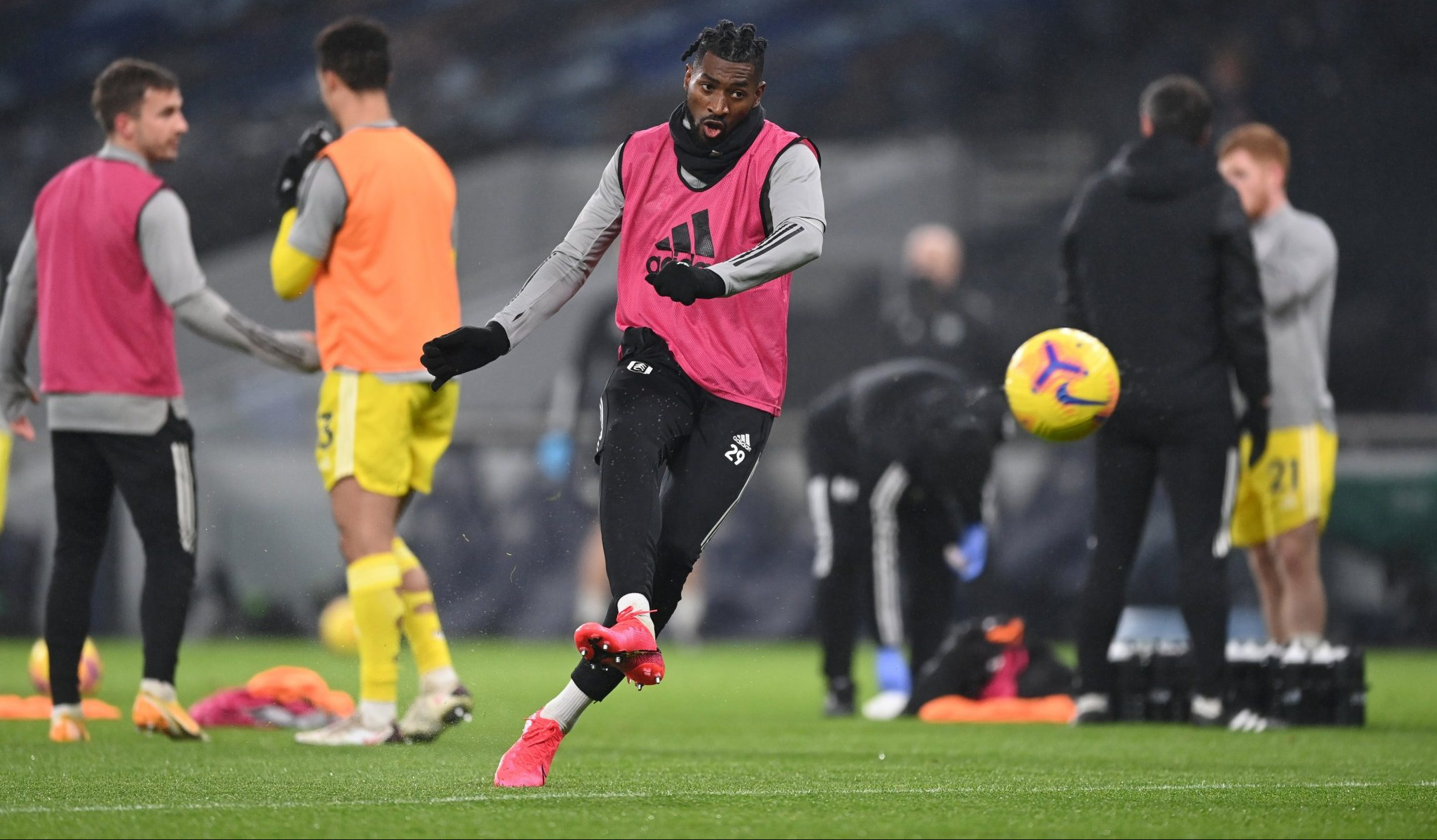 While anguissa won't offer much help on the scoreboard, he is every bit a defensive midfielder, landing among europe's best midfielders in tackles (in all three sections of the. Fulham Set To Lose Andre Zambo Anguissa Footballfancast Com