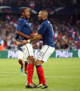 Après Loïc Rémy, Karim Benzema rêve de danser avec Fauve Hautot