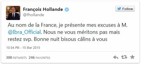 footballfrance-twitter-francois-hollande-excuse-zlatan-ibrahimovic