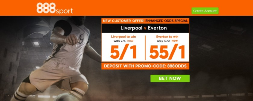 888Sport New Customers Offer