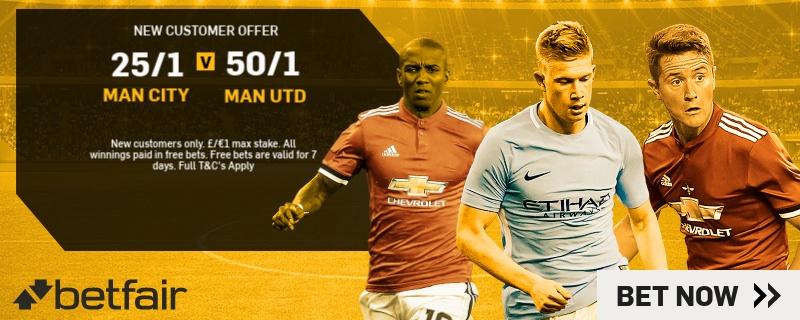 Manchester Derby Betfair Promo
